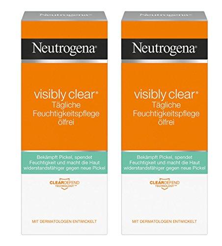Neutrogena Visibly Clear Crema Hidratante Exfoliante
