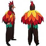 """Pájaro colorido del traje de """"Bobby"""", tamaño XL, mono del loro del carnaval Hahn"""