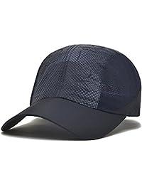 MAZHONG Gorras de béisbol Sombrero Par Gorra de béisbol de verano Sombrero de sol de secado