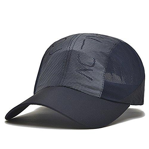 Casquettes HUO Chapeau Couple de Baseball d'été à séchage Rapide en Plein air Respirant Sun Hat Viso Frais et Sec