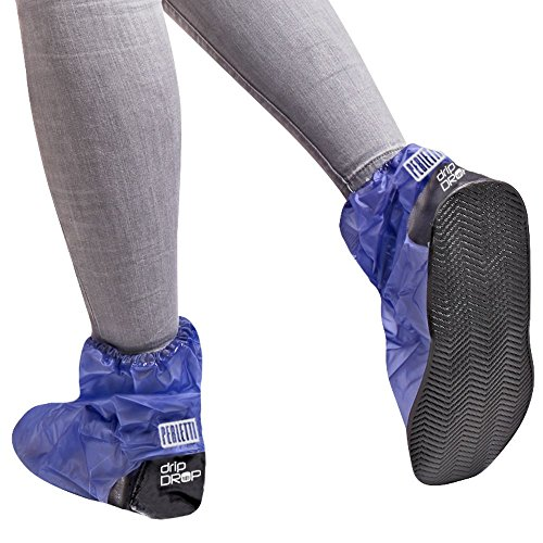Wasserdicht Schuhüberzieher aus PVC Wiederverwendbar Rutschfester Überschuhe