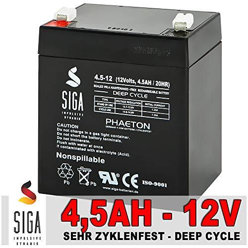 4.5AH 12V AKKU AGM GEL Batterie USV NOTSTROM APC Elektro Scooter 12 Volt BLEIAKKU