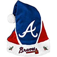 Atlanta Braves 2014 MLB Color Block Santa Hat Cappello