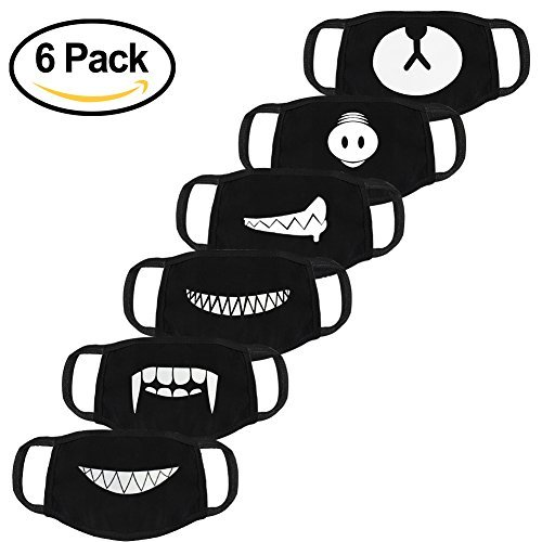 Men's Masks Brave 4pcs Mouth Mask Cotton Blend Anti Dust And Face Bacteria Flu Nose Protection Face Mouth Mask Fashion Reusable Masks For Men