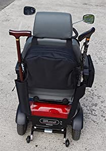 Sheerlines Small Richmond Bag for Portable Mobility Scooters with Stick Holders