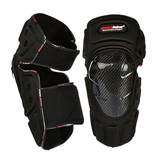 madbike Karbonfaser Motorrad Knieschoner und Ellenbogenschoner Motocross Displayschutzfolie