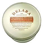 DELARA Baume d'entretien pour Cuir de Haute qualité avec jojoba et Cire d'abeille -...