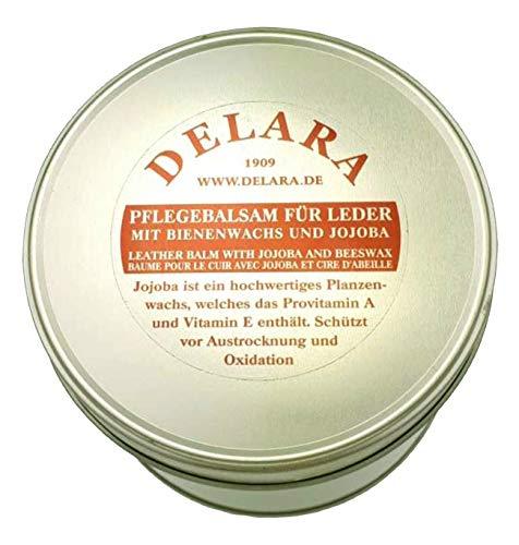 DELARA Balsamo Protettivo per Pelle con Jojoba e c'Era d'api, Colore: incolore. 500 ml - Prodotto in Germ