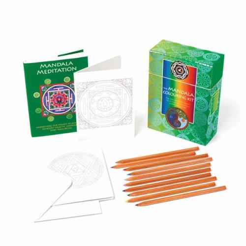 Mandala Colouring Kit: All You Need to Create 12 Stunning Mandala Greetings Cards -