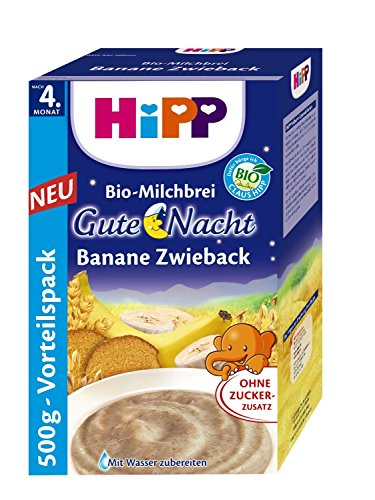 Hipp buonanotte Mash biscotti banane 500g, 5-pack