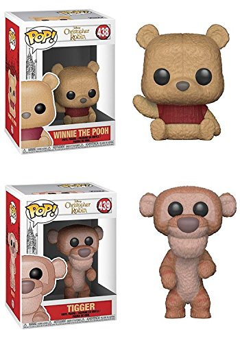 FunkoPOP Christopher Robin: Winnie The Pooh + Tigger – Vinyl Figure Bundle Set