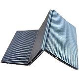 Loop Linens Foldable Foam Pad Cum Mattress/Yoga Mat/Guest Bed, Size 72 x 35 inches