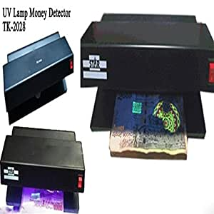 CP BIGBASKET Ultraviolet Counterfeit Fake Currency Note Money Detector Checker Machine - Black