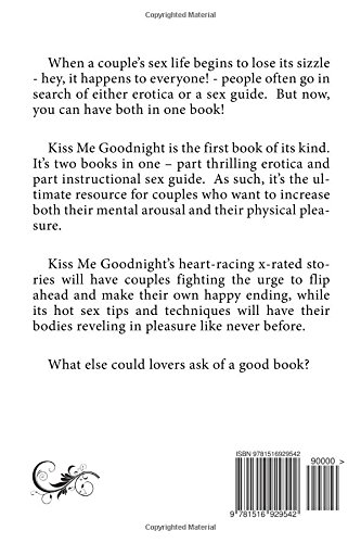 Kiss Me Goodnight: Bedtime Erotica for Couples: Plus 30 Nightly Sex Tips for a Month of Pleasure