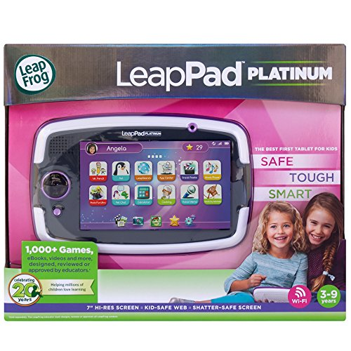 Leapfrog Platinum 7 inch Tablet 8GB WiFi – Pink