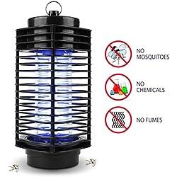 Lámpara Anti Mosquitos NuoYo 11.5 ×26 cm Negro Photocatalyst 3W/220V Mosquito de la Lámpara el Mejor Segura y Eficaz Lámpara de Anti-mosquito / Anti-insectos