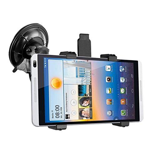 kwmobile KFZ Scheiben Halterung für Huawei MediaPad M1 8.0 - PKW Auto Halter mit Saugnapf in Schwarz