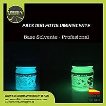 Pack duo fotoluminiscentes base solvente