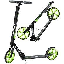 Apollo Big Wheel Scooter 200 mm - Phantom Pro Verde es un City Scooter de Lujo