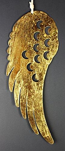 Metall Flügel ´Angel ´ 60cm Lang Gold