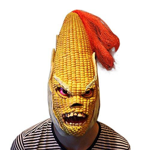 (Angry Mais Latex Kopf Maske scary halloween Kostüm Maske cosplay volle Gesichtsmaske für cosplay Karneval Festival von yunhigh)