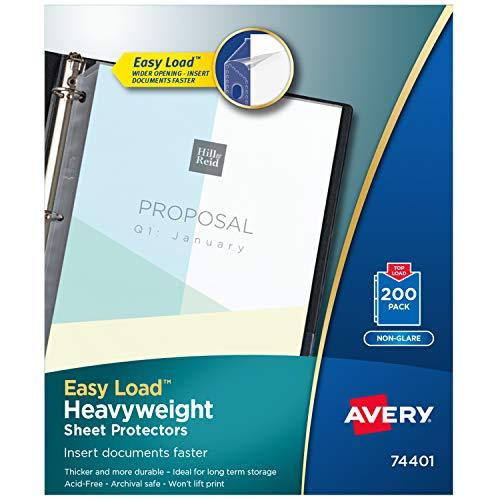Preisvergleich Produktbild Avery Economy Bettlakenschoner schwergewichtig 200 Protectors Non-glare