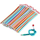 GRAPPLE DEALS New Latest Design Kids Bend Pencil With Eraser For School Going Kids Or Birthday Return Gift (Bend Pencil -10 Pcs)