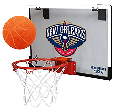 NBA New Orleans Hornets Game On Indoor Basketball Hoop &