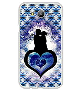 ifasho couple kissing Back Case Cover for Samsung Galaxy On 7