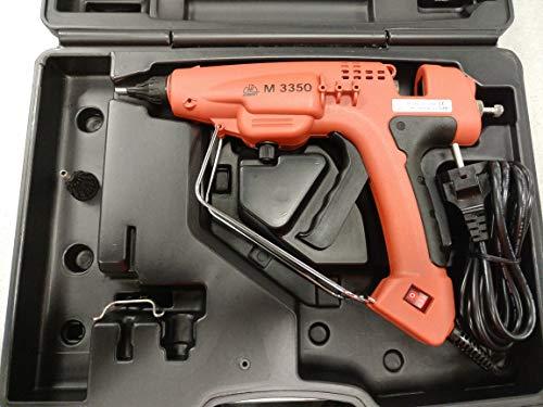Pistola incollatrice elettrica professionale m3350 per colla a caldo stick Ø12 - con valigetta