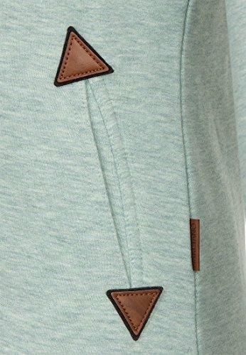 Naketano Female Zipped Jacket Hamza Bau ma Reudigen Melange
