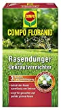Compo Rasenpflege Floranid dünger plus Unkrautvernichter 6 kg für 200 m²