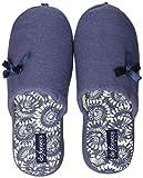De Fonseca Roma Top W533, Pantofole Aperte sul Retro Donna, Blu Scuro, 38/39 EU