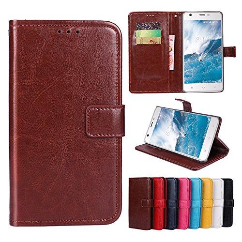 F&a® Flip Brieftasche Hülle für TP-LINK Neffos C9(Muster 8)