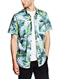 G.S.M. Europe - Billabong – Camicia da uomo Pools Sider Short Sleeve Woven, Uomo, Hemd POOLSIDER Short Sleeve WOVEN, Blu chiaro, M