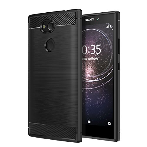 MoKo Sony Xperia L2 Hülle - Premium Ultra Slim Leicht weiches TPU Protector Phone Case Handy Schutzhülle Schale Bumper für Sony Xperia L2 5,5