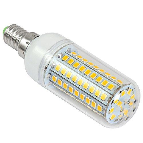 2X MENGS® E14 12W LED lampe Leuchtmittel & Birne Mais Licht 102 x 2835 SMD LEDs Mit PCB-Mantel (750LM, AC 220-240V, Warmweiß 3000K, 360º Abstrahlwinkel, Ø32×96mm) Energiespar licht - 5