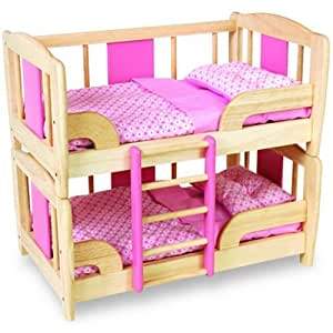 pintoy lit superpos pour poup es jeux et jouets. Black Bedroom Furniture Sets. Home Design Ideas