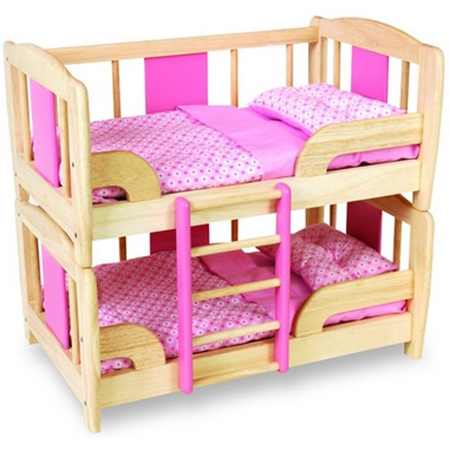 Pintoy Doll's Bunk Bed