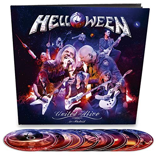 Helloween - United Alive (2 Blu-ray+3Dvd+3Cd)