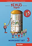 KIKUS Englisch: Language Learning for Children.English as a foreign language / Worksheet Set 3