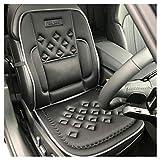 Almohadón de SOPORTE para el asiento del carro – 14 bolsillos para flujo de aire – ¡8 imanes + soportes de Espalda y De Los Lados!
