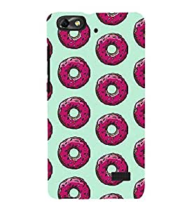 Pink Doughnuts 3D Hard Polycarbonate Designer Back Case Cover for Huawei Honor 4C :: Huawei G Play Mini