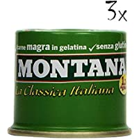 36 Montana Carne Classica Beef in Aspice 70g 100% Italian Meat! Ready to Read!