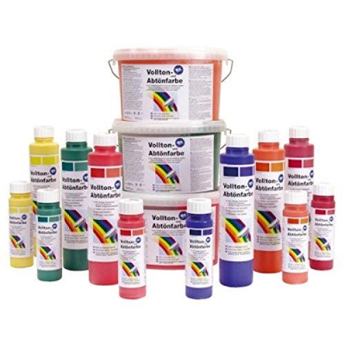 Pufas fix 2000 Volltonfarbe und Abtönfarbe 750 ml Farbton: 904 Schwarz