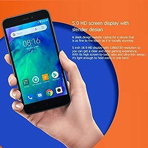 Smartphone Xiaomi Redmi Go versión Global, Android 1 + 8 GB teléfono móvil Snapdragon 425 Quad Core 4G teléfono con Tarjeta SIM Dual en Modo de Espera.