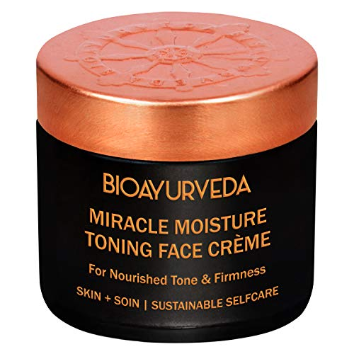 BIOAYURVEDA Miracle Moisture Toning Face Cream with Red Madder and Saffron Oil For All Skin Type (120gm)