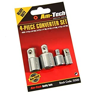 Cutting-Edge Am-Tech Converter Set (4 Pieces) - (Eco Packaging)