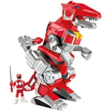 Fisher-Price Imaginext Mighty Morphin Power Rangers - Red Ranger and T-Rex Zord Toy Figure by Fisher-Price
