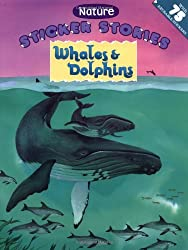 Whales & Dolphins (Nature Sticker Stories)